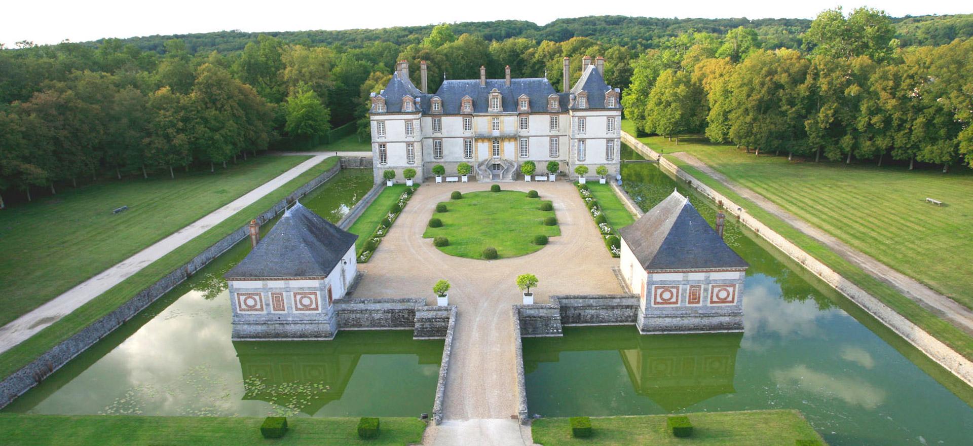 """Voir la page de l'établissement """"Château de Bourron"""""""