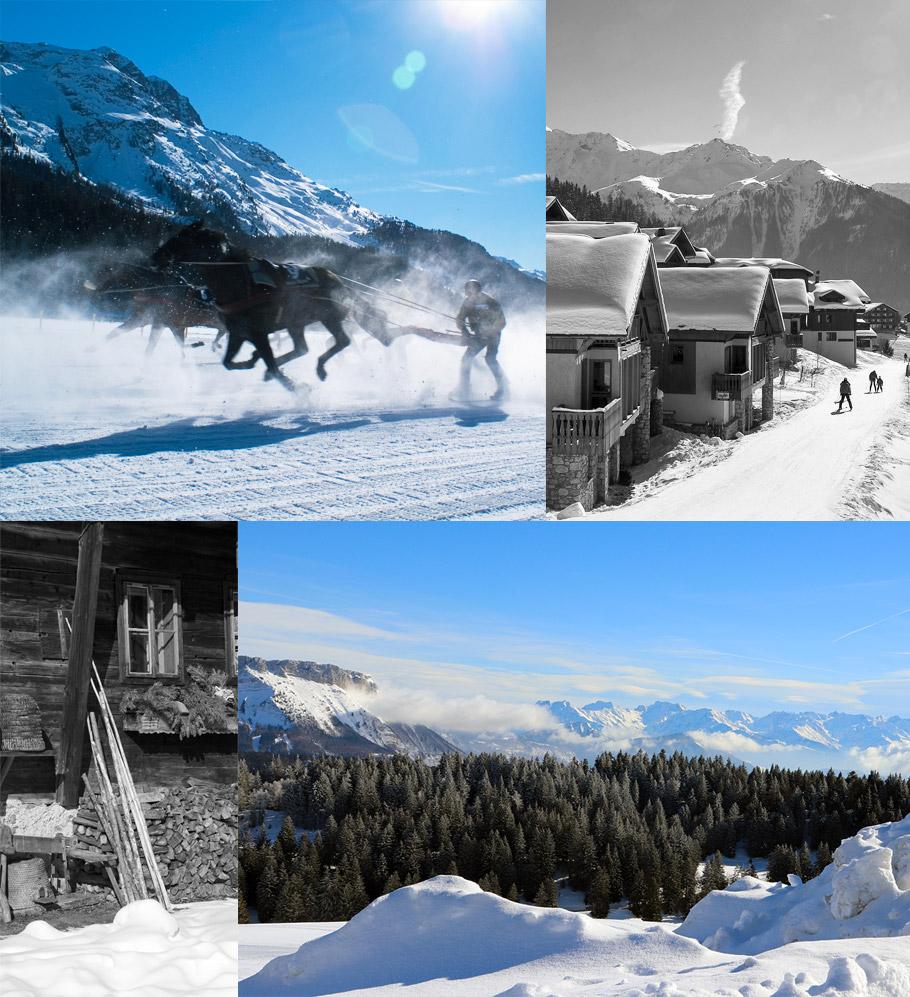 In season, discover another slide: Ski Joering.