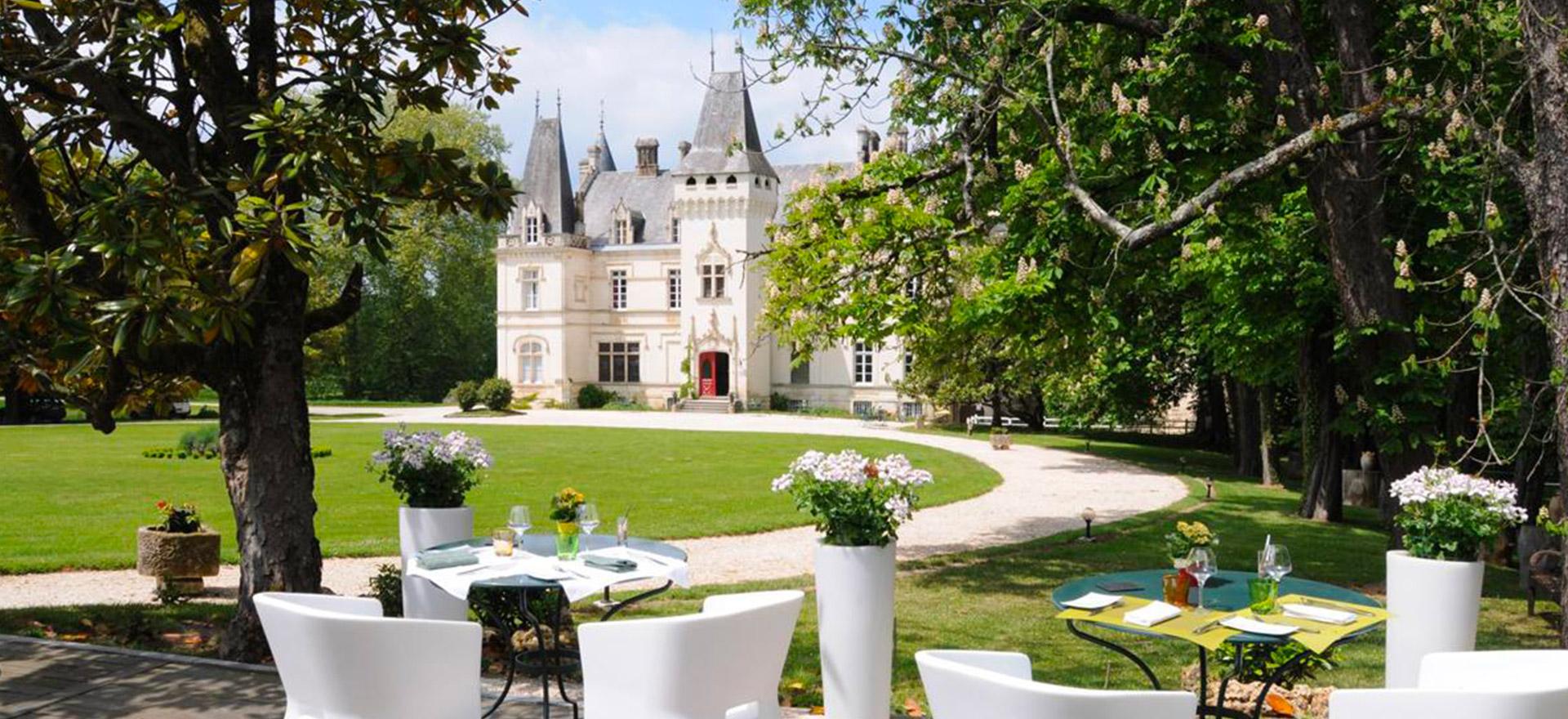 """Voir la page de l'établissement """"Château de Nieuil"""""""