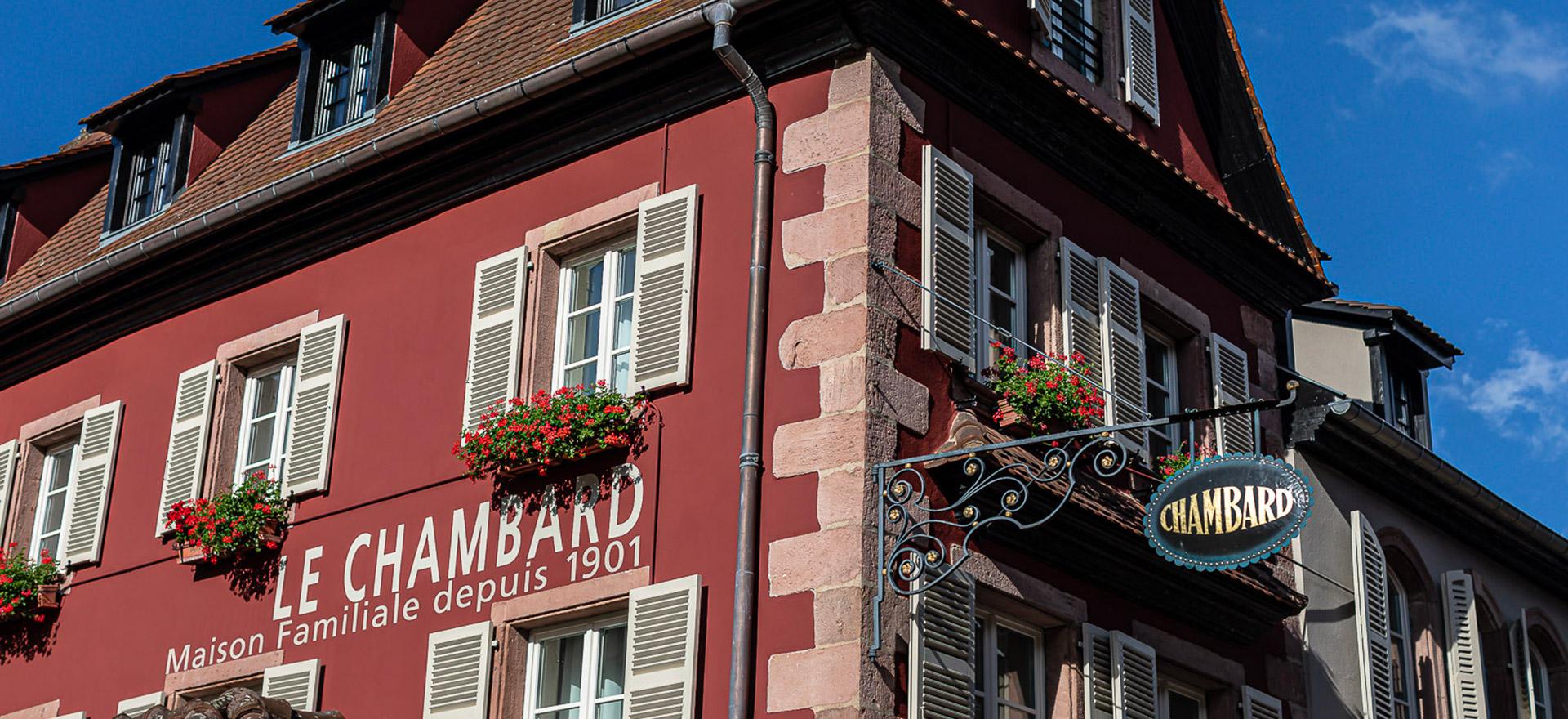 """Voir la page de l'établissement """"Le Chambard"""""""