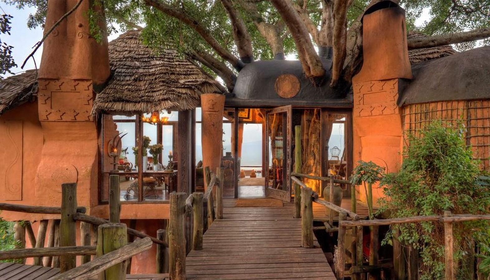 """Voir la page de l'établissement """"andBeyond Ngorongoro Crater Lodge"""""""