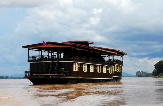 """Voir la page de l'établissement """"The Vat Phou Cruises"""""""